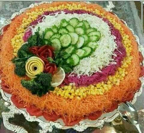 salade composée pour mariage