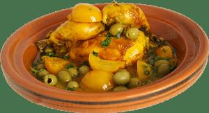 tajine marocain au olives, poulet et citron confit à aubagne