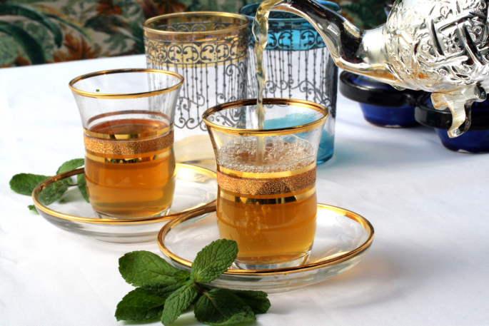 thé à la menthe à aubagne